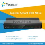 Yeastar N412 Analog PBX System for Small Business Ideas