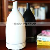 Fresh air black and white home aroma diffuser,hotel porcelain ultrasonic aroma humidifier