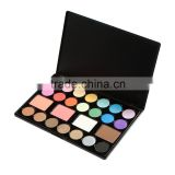 2 Color Blusher 2 Color Bronzer 21 Earth Soft Color Glittering Matte Eyeshadow Eye Shadow Makeup Palette Set