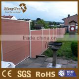 new fence design with privacy style - better than wiremesh fence and vinyl fence