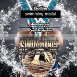 Medal Product Type and Brass Type swimming medals