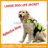 Pet Life Preserver - All Sizes Extra Large - Reflective Dog Life Vest Doggy Swimming Safety Clothes