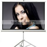 portable projection screen tripod