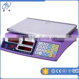 Popular Model High Quality Electronic Digital Weighing Scale ,30KG / 5G LED Red Light Display