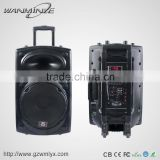 Portable Bluetoth Speaker With Rechargable Battery Powerful DJ Woofer Speaker With Strobe Light