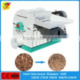 Factory sale biomass bamboo grinding hammer mill machine with best price