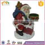 Factory Custom made best home decoration gift polyresin resin christmas ornaments wholesale