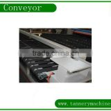 leather machine belt conveyor factory