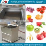 multifunction ultrasonic ozone fruit washing machine/vegetable cleaning machine