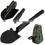 Folding Foldable Shovel Spade Emergency Garden Camping Hiking Tool