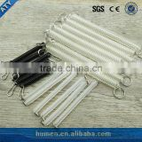 hot sell safety plastic spring with buckle and cord lock compression spring