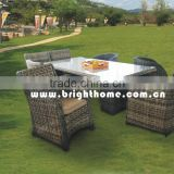 Leisure Dining Chair & Table BM-558 PE rattan wicker outddor furniture