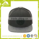 Leather Patch Adjustable Cheap Snapback Camp 5 Panel Hat /Flat Brim Blank Custom Floral Print Wholesale 5 Panel Cap