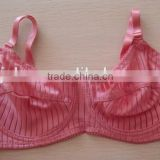js-904 nice girls pink color no padding bra in stock