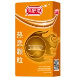 Best selling Apple favor dotted condoms with OEM service