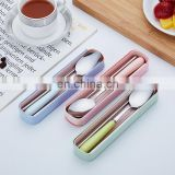 Stainless Steel Chopstick Picnic Student Spoons