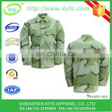 BDU uniform T/C 65/35 custom combat military camouflage tactical army uniform jacket+pant