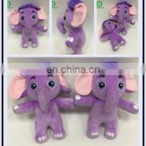 Good quality plush stuffed toys plush toys for crane machines elephant plush toys for sale