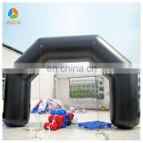 Customized inflatable arched single entry door