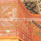 Designer old sari cotton beaded handmade patchwork Wall Hangings manufacturer