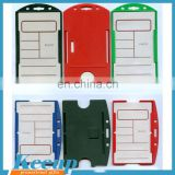 Most Practical Shiny pvc or pvc Material and ID Card Use pvc pocket business card holder