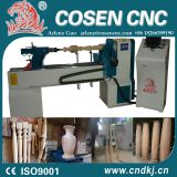 Hot sell! COSEN CNC W lathe machine price woodworking lathe