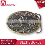 Hot sale die casting 3D interlocking belt buckle