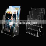 Three Holders with Clear Filmy and Solid Quality Acrylic Magazine Holder