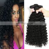 Deep Curl Best Selling Good Feedback Virgin Human Hair Bundles list of hair weave