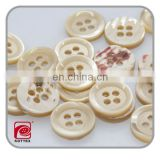 Custom laser engraved sea shell button with 4 holes,trochus shell shirt button