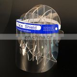 Anti fog-Factory Stocks Face Shield Anti Splash PET face shield dental face shield