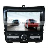Hot sale car entertainment system for Honda City with GPS/Bluetooth/Radio/SWC/Virtual 6CD/3G internet/ATV/iPod/DVR