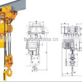 0.3ton Factory direct sale no spark stainless steel electric chain hoist