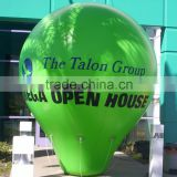 0.18mm PVC giant inflatable advertising flying helium balloon inflatable party ballon for decoration