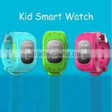 New Model kids GPS tracker smart watch Q50 with GSM SOS calling function smart watch kid