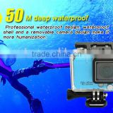 2015 New Arrival! 50 Meters Waterproof 2.0INCH TFT LCD Display 1080P@60FPS WiFi Sport Camera 720P@120FPS With Time Lapse Mode