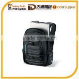 Internal padded laptop sleeve nylon+polyester laptop bag with several pockets