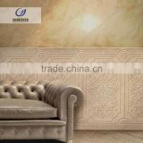 Embossed tile stone wall relief used for indoor and outdoor decoration