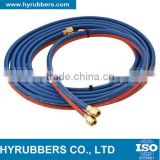 Chinese best top quality industrial hose high temperature flexible 5mm twin welding hose