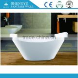 simple freestand bathtub/ white freestanding tub/ acrylic double slipper bath                                                                         Quality Choice