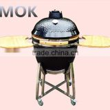 China charcoal kamado ceramic chimney grill of camping cookware