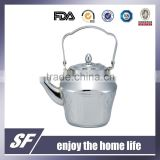 3 Pcs-Set Of Top Handle Arabian Stainless Steel Tea Kettle/Tea Pot Chromium plating (SF-7809 S)