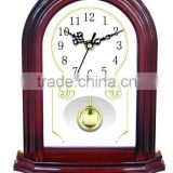 Wooden Vintage Table Clock With Pendulum