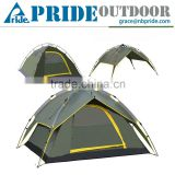 Outdoor 3-4 Person Automatic Sun Shelter Tent Camping Folding Backpacking Automatic Pop Up Tent
