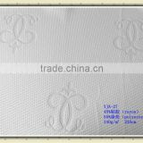 viscose polyester yarn dyed fabric for mattress