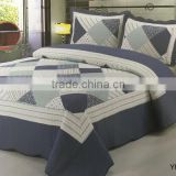 china manufacturer fashionable pattern soft 100% cotton bed set furniture