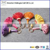 custom design colorful pu leather tassels for bag/garment wholesale chinese supply                                                                         Quality Choice