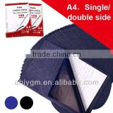 Popular Single/Double Size Paper Base Stock Blue High Quality Carbon Paper
