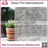 New arrived security waterproof frosted PVC film window for decoration