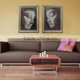 2 panel MDF Prints wood photo prints Modern Canvas Wall Art living room decoration 4 pannel MDF prints set